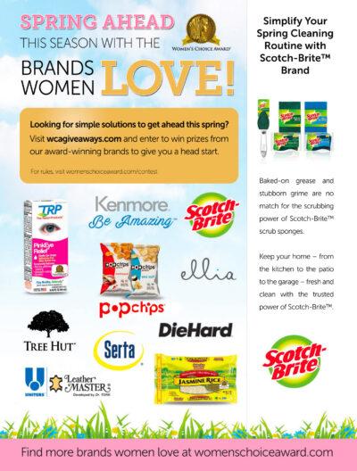 Honoring the Brands Women Love